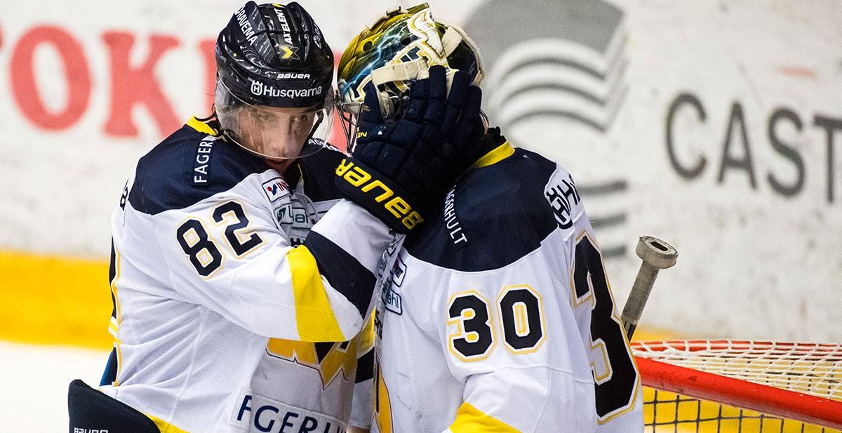 TV: Två av HV71:s hjältar om segern och den sjunde matchen imorgon