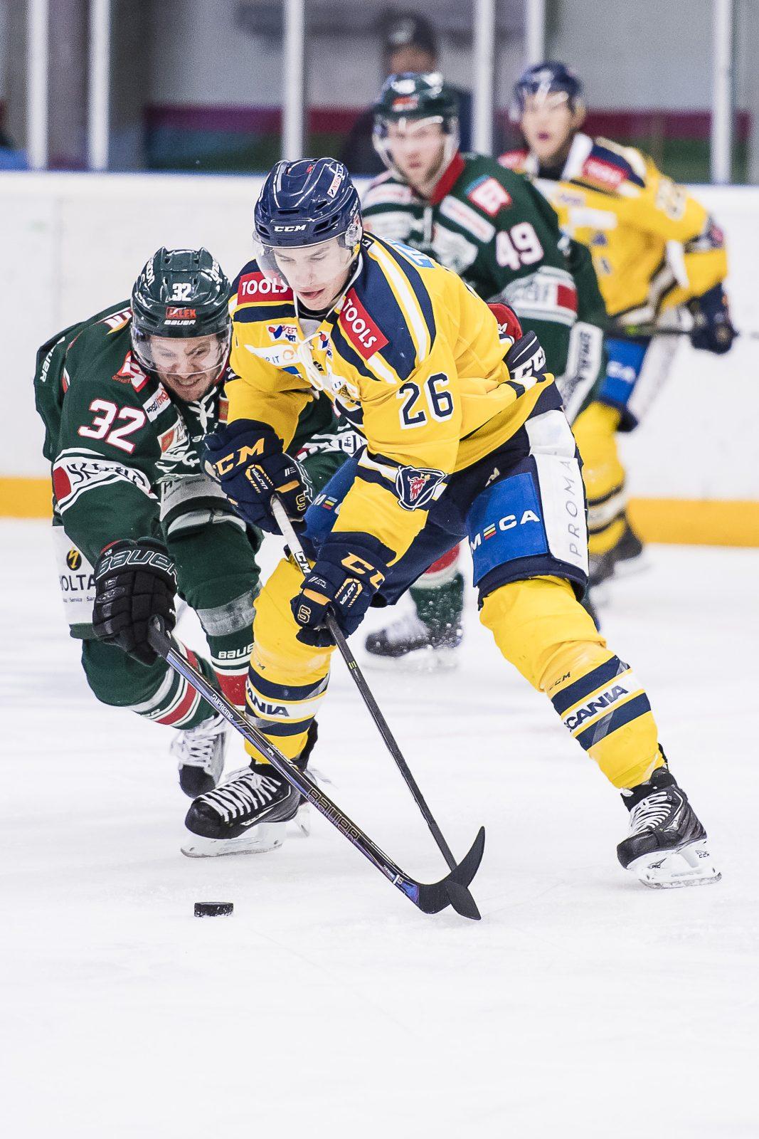 Målkungen lämnar HockeyAllsvenska klubben