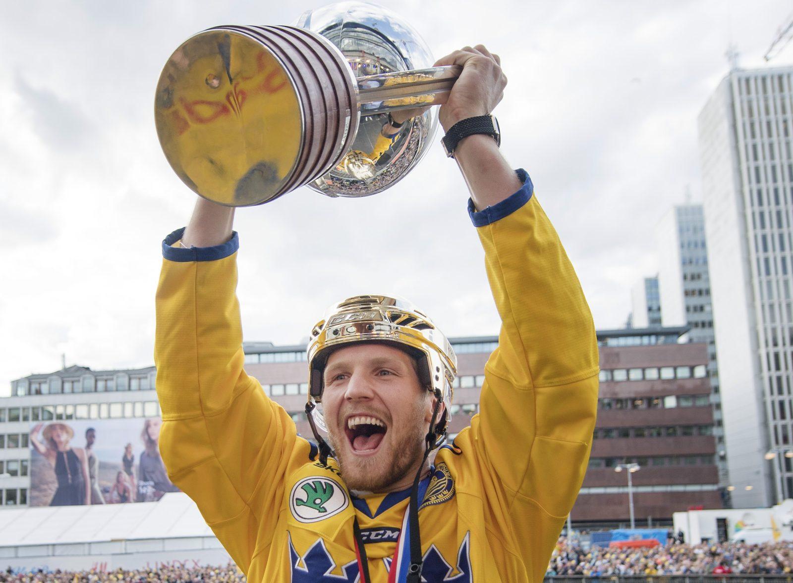Svenske NHL-kaptenen och VM-vinnaren aktuell för klubbyte