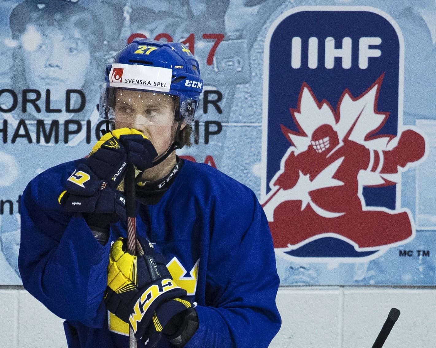 SMÄLLEN: Talangen missar NHL-campen
