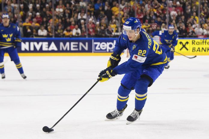 Beskedet: Eriksson Ek skickas ner till AHL