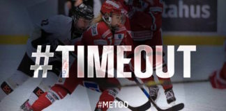 SHL ställer sig bakom #timeout