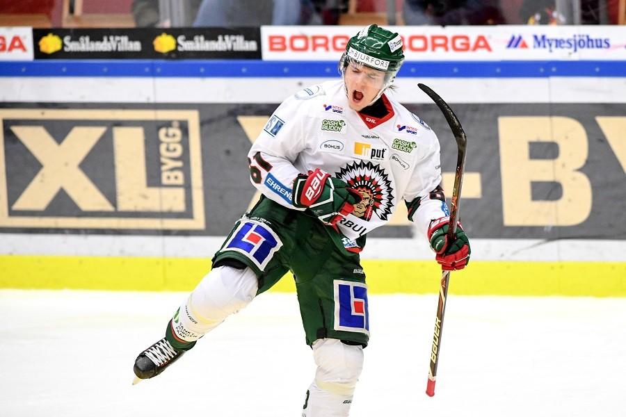 Trots förlusten – Lias Andersson i händelsernas centrum