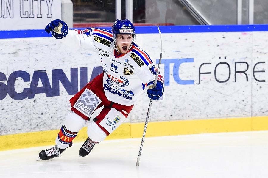 Efter succén i Hockeyallsvenskan – stortalangen kallas hem