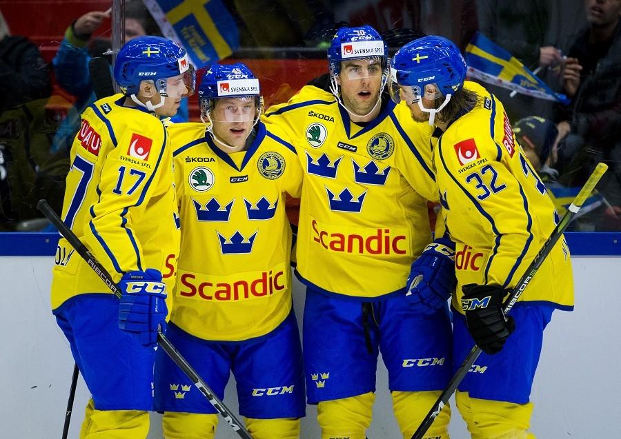 Här är den svenska truppen till Channel One Cup