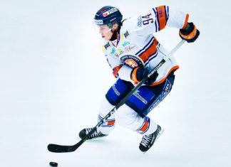 Joel Persson spelade i Hockeyettan förra säsongen