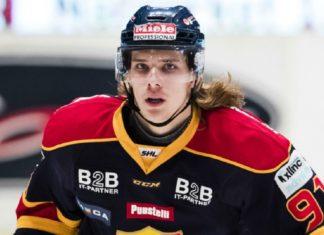 Djurgårdens talang, Axel Jonsson-Fjällby, kontrakterad av Washington Capitals
