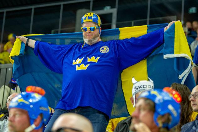 HOCKEY-VM: Se de bästa bilderna från Sverige - Frankrike