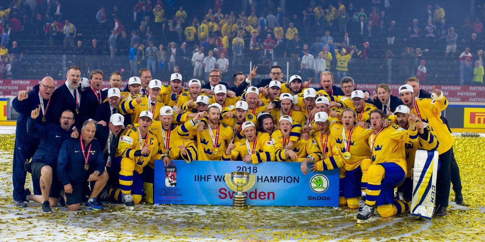 GULD: Tre Kronor vinner VM efter straffdrama