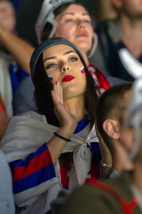 HOCKEY-VM: Se bilderna från läktarfesten