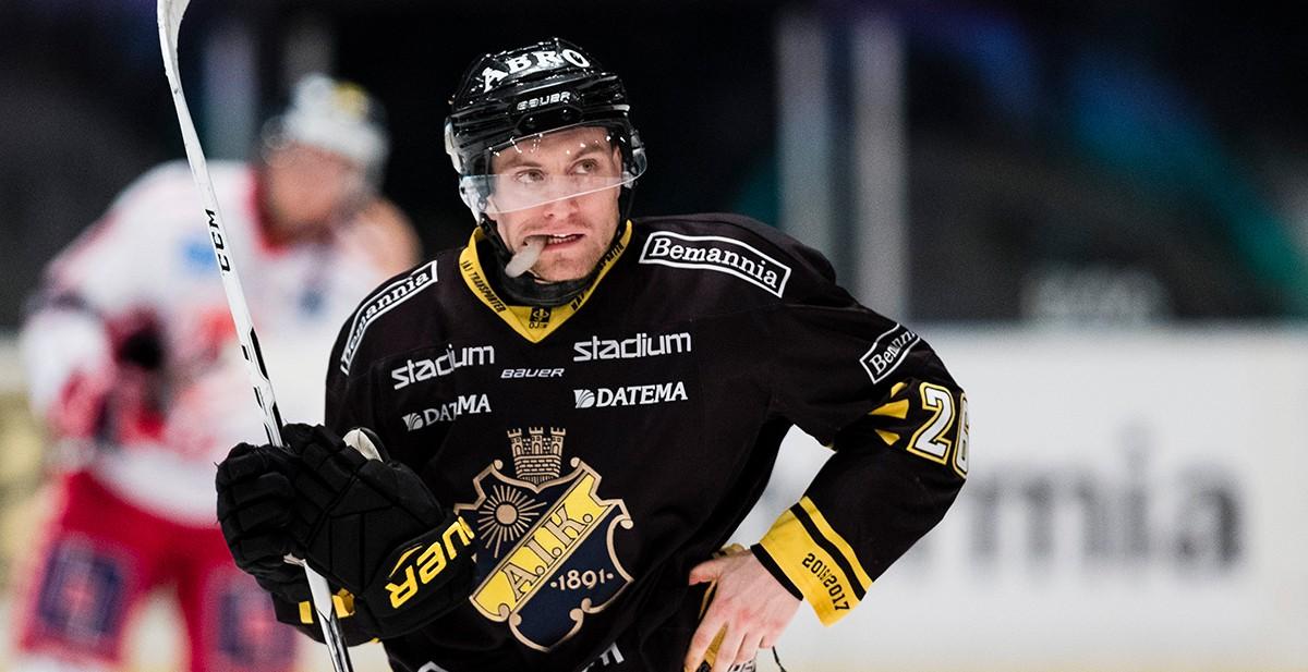 Spelat upp tre lag i SHL – Nu lämnar han Sverige för spel utomlands