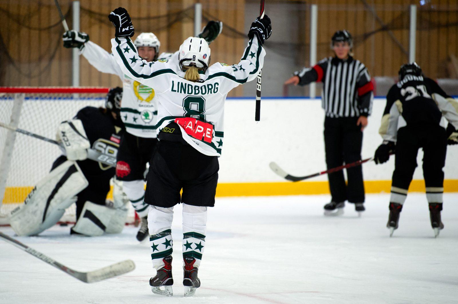 Hammarby Hockeys damer dansar sig igenom problemen