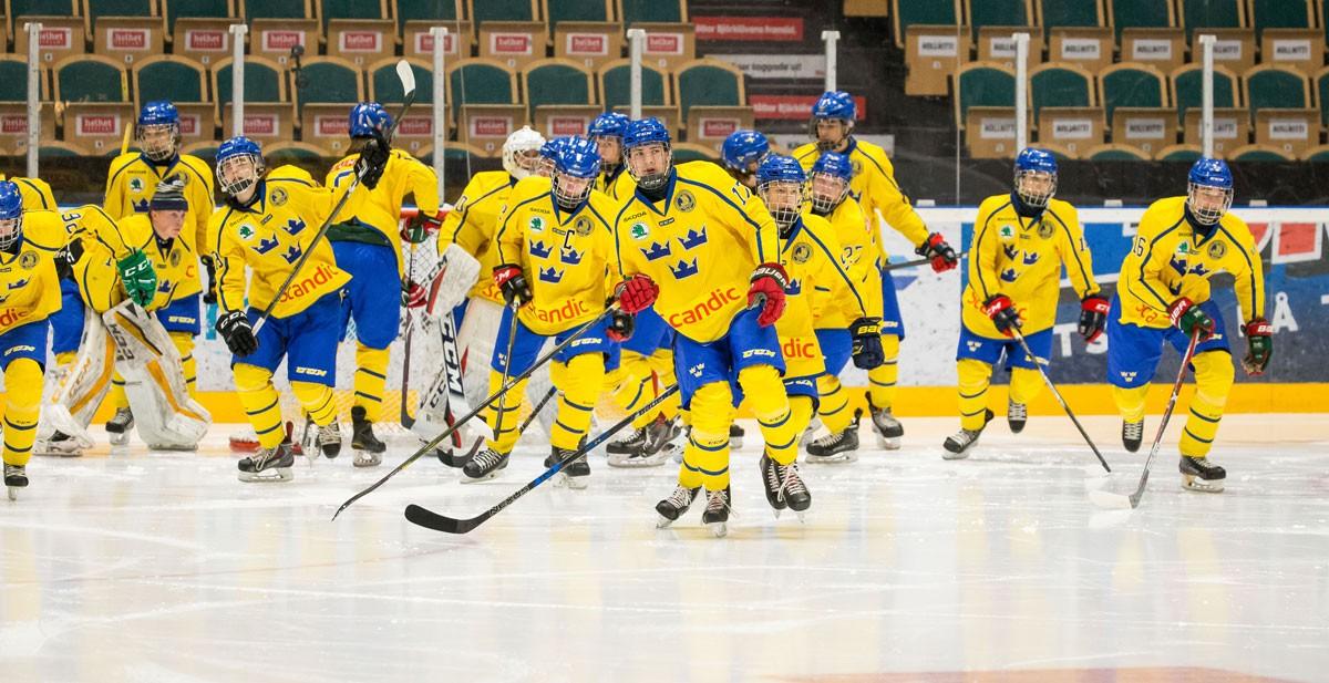 SMÅKRONORNA: Så spelas J18-VM i Umeå och Örnsköldsvik