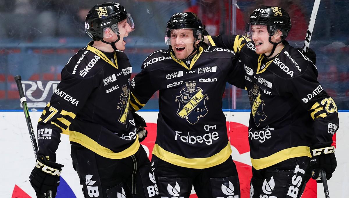 Forwarden till Hockeyallsvenskan på korttidskontrakt