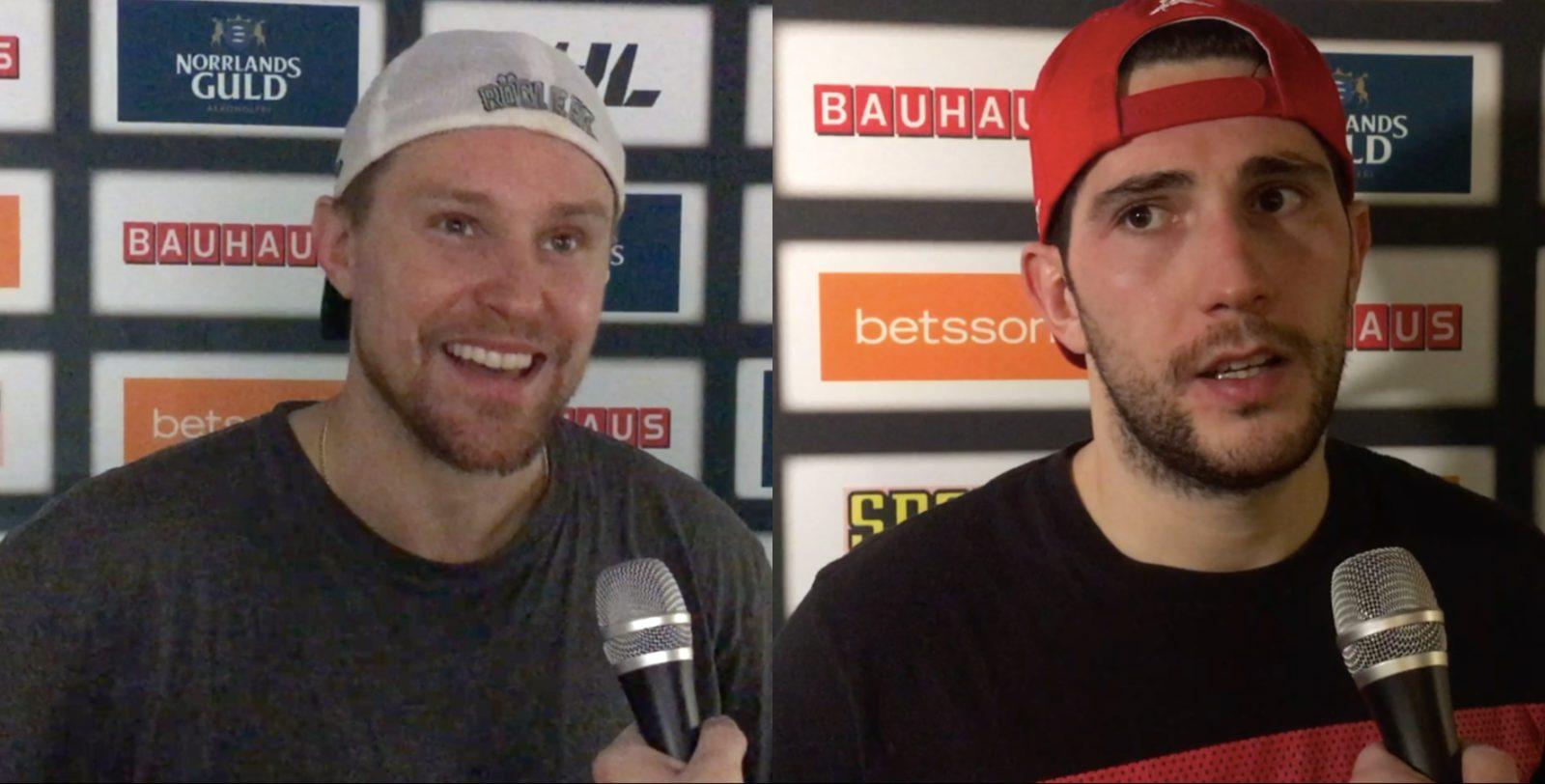 TV: Ahnelöv och Komarek efter säsongens tredje Skånederby