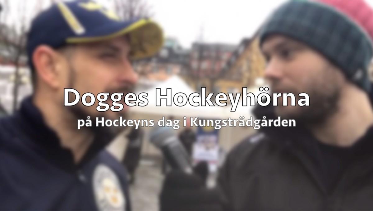Dogges Hockeyhörna på Hockeyns dag i Kungsträdgården