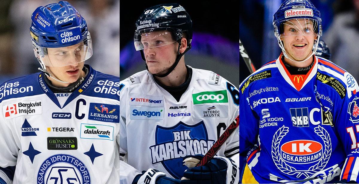 FANSENS FAVORIT: Hockeyallsvenskans mest populära kapten, kvartsfinal 2