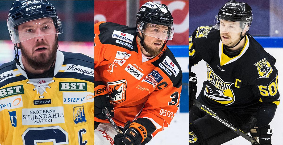 FANSENS FAVORIT: Hockeyallsvenskans mest populära kapten, kvartsfinal 3