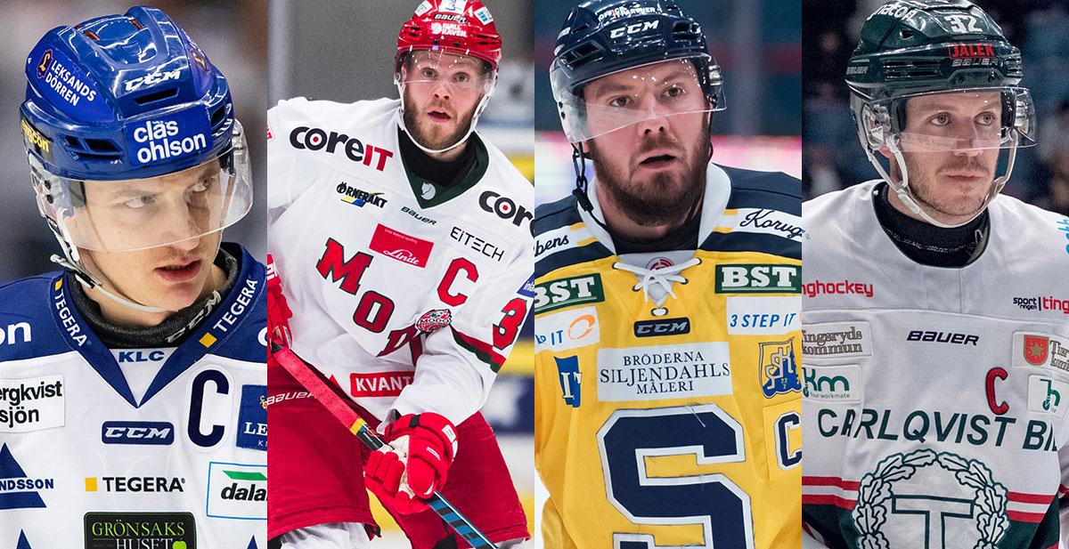 FANSENS FAVORIT: Hockeyallsvenskans mest populära kapten, semifinal 2