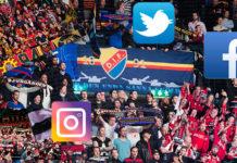 SHL-klubbarna på sociala medier