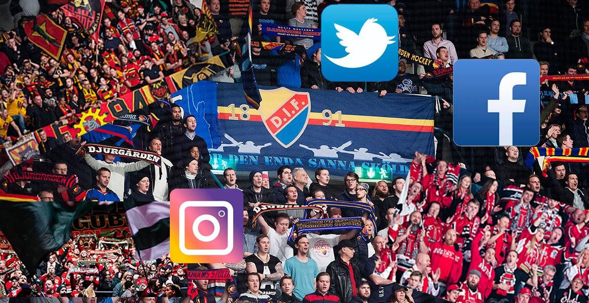 LISTA: Så bra är SHL-klubbarna på sociala medier