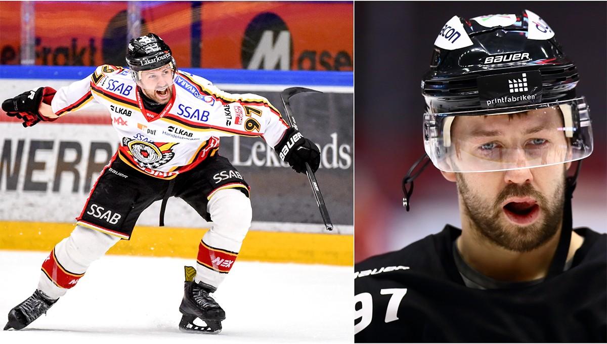 BESKEDET: Ingen debut för Ledin mot Timrå