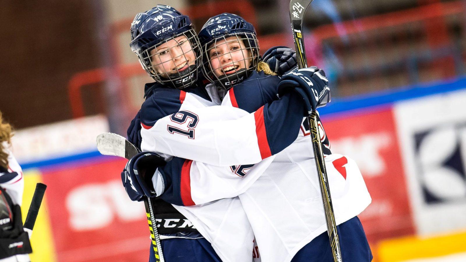 Framtiden ljus för damhockeyn i Stockholm