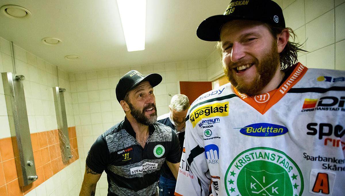 Tog upp klubben till Hockeyallsvenskan – förlänger kontraktet