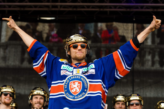 HV-SILLY: Förre guldhjälten presenterades av HV71