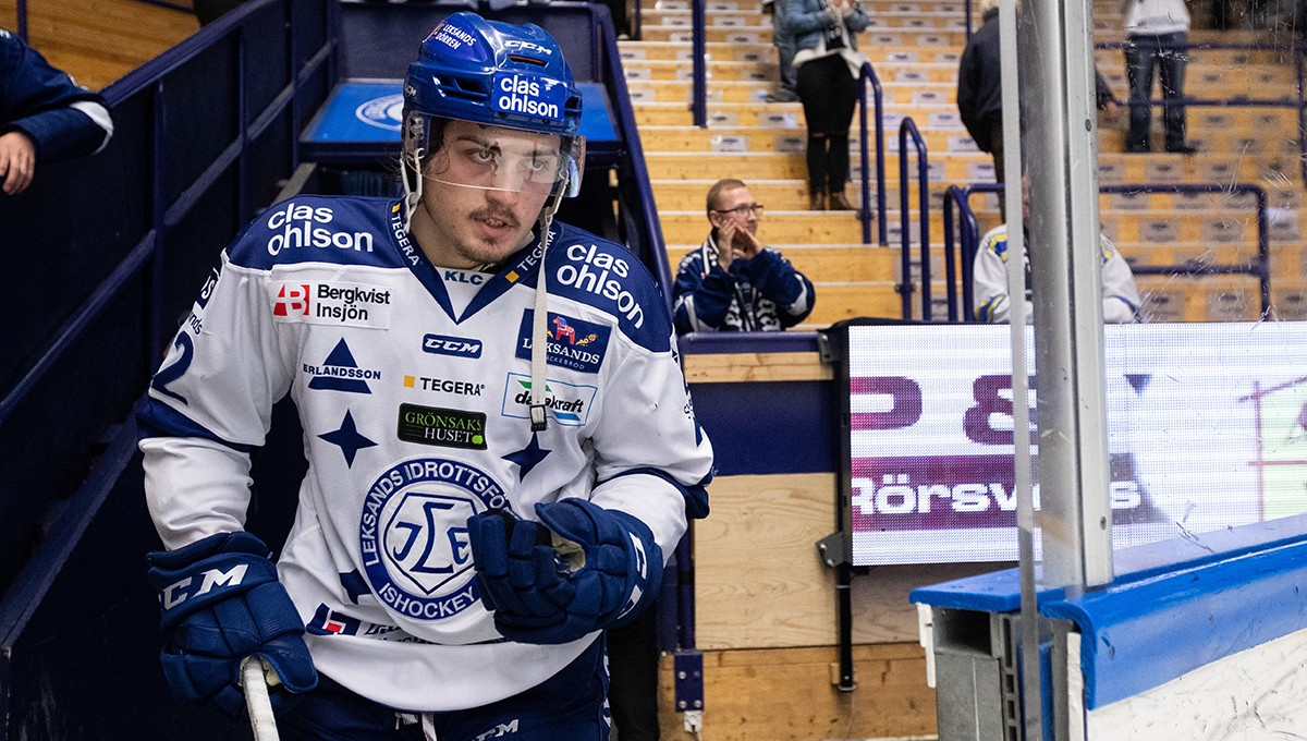 """Lämnar Leksand för Hockeyallsvenskan: """"inte rädd att smälla på"""""""