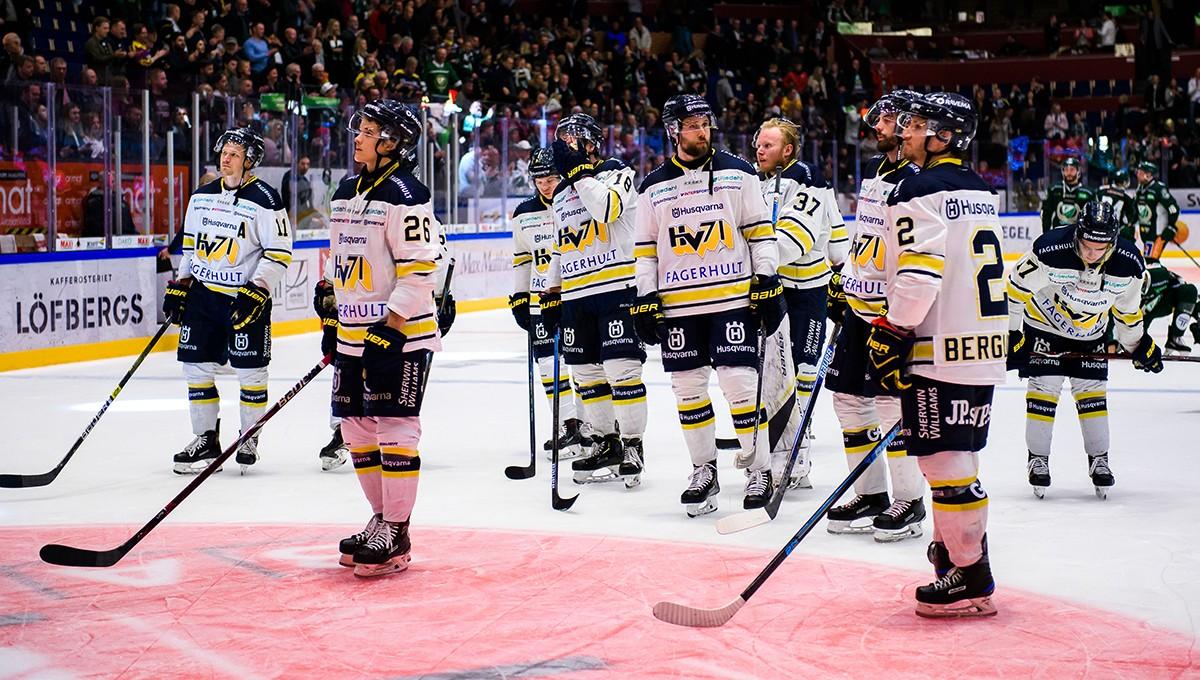 """Åtta spelare lämnar HV71: """"Naturligtvis tråkigt när man skiljs åt"""""""