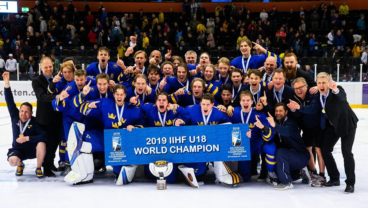 U18-VM: Svenskt guld efter stor dramatik