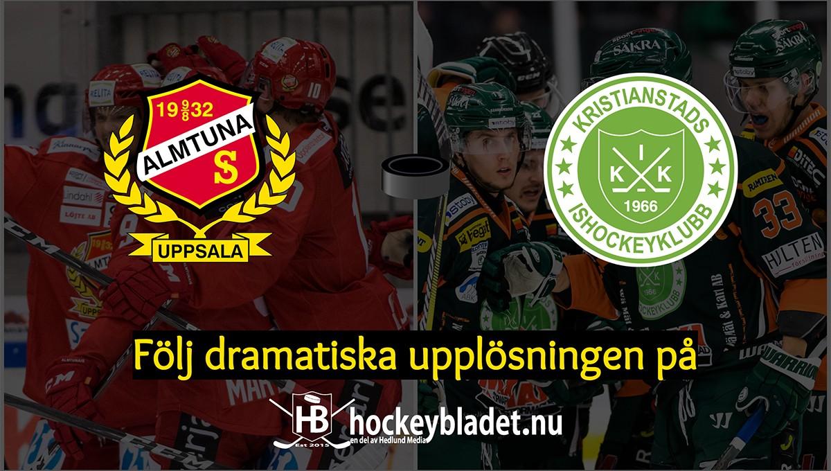 LIVE: Följ dramat i kvalserien – Almtuna mot Kristianstad