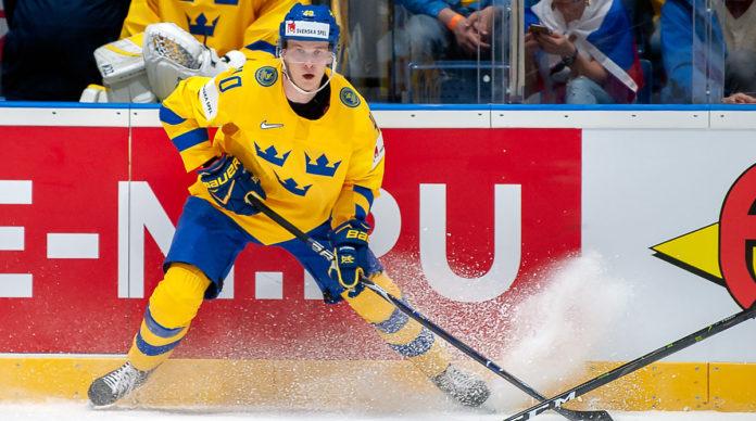 HOCKEY-VM: Elias Pettersson trivs i nya omgivnigen