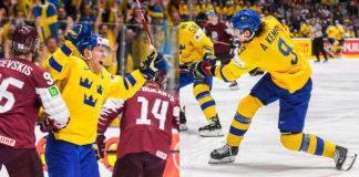 HOCKEY-VM: Kempe och Hörnqvist om Lettlandsmatchen