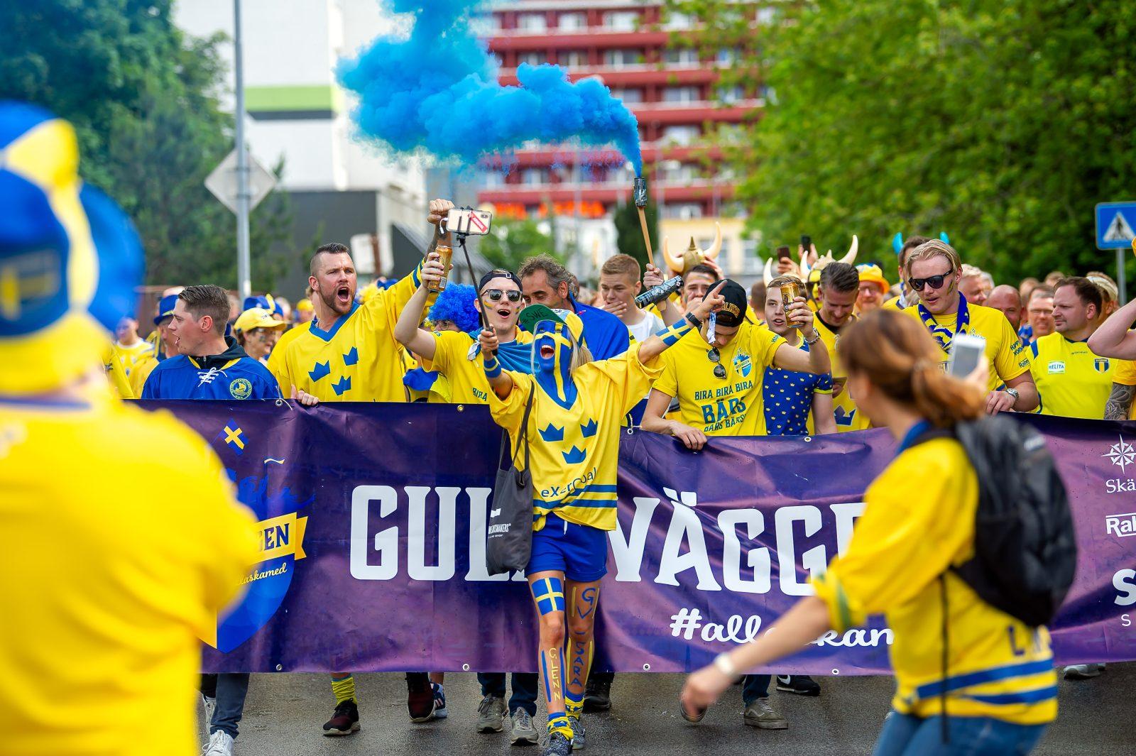 Hockey-VM: Vi är svenska fans allihopa