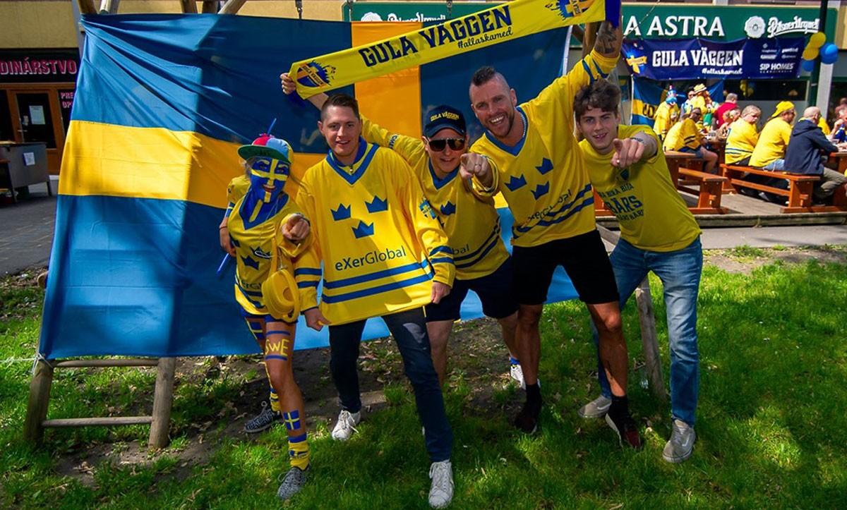 STUDIO HOCKEYBLADET: Ge oss ett namn – besök från Svenska Fans