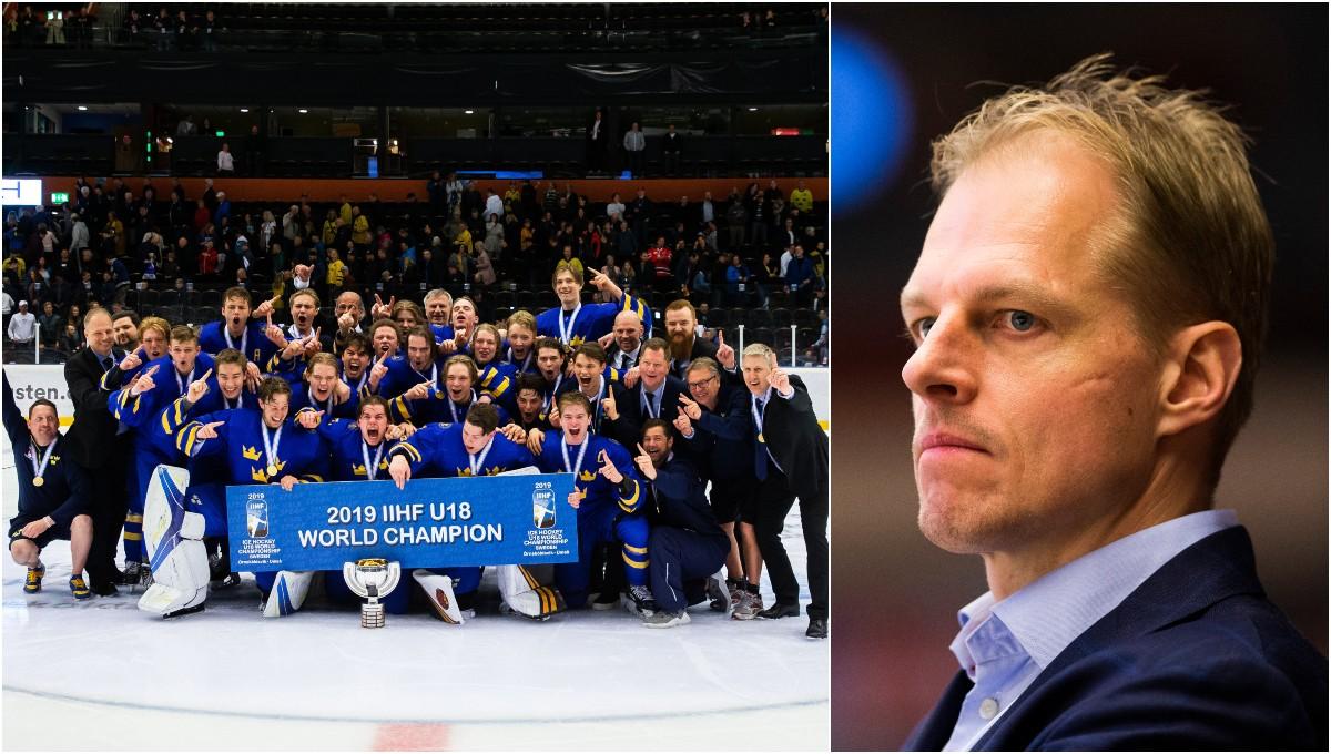 Småkronornas trupp till 2019 Hlinka Gretzky Cup
