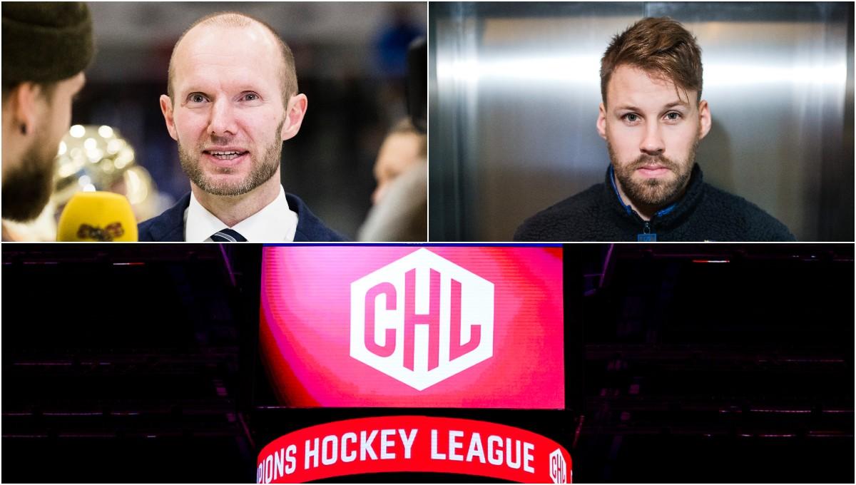 Ekman och Axelsson blir CHL-experter i SVT