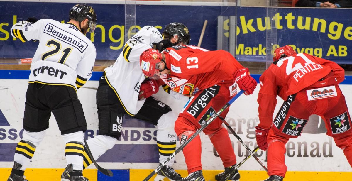 KVÄLLENS MATCHER: Fyra Hockeyallsvenska matcher