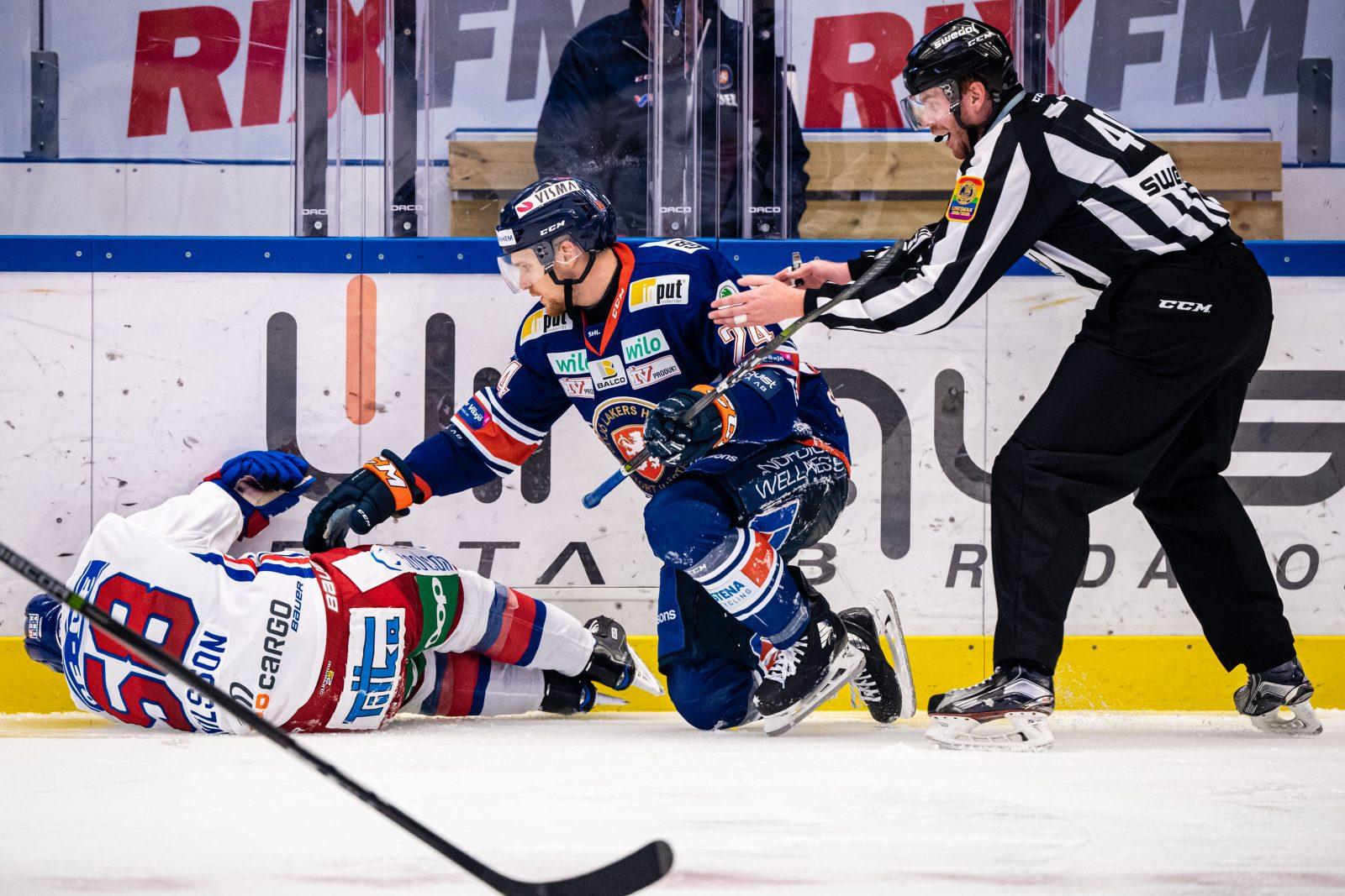 BEKRÄFTAT: Nilsson har drabbats av en kraftig hjärnskakning