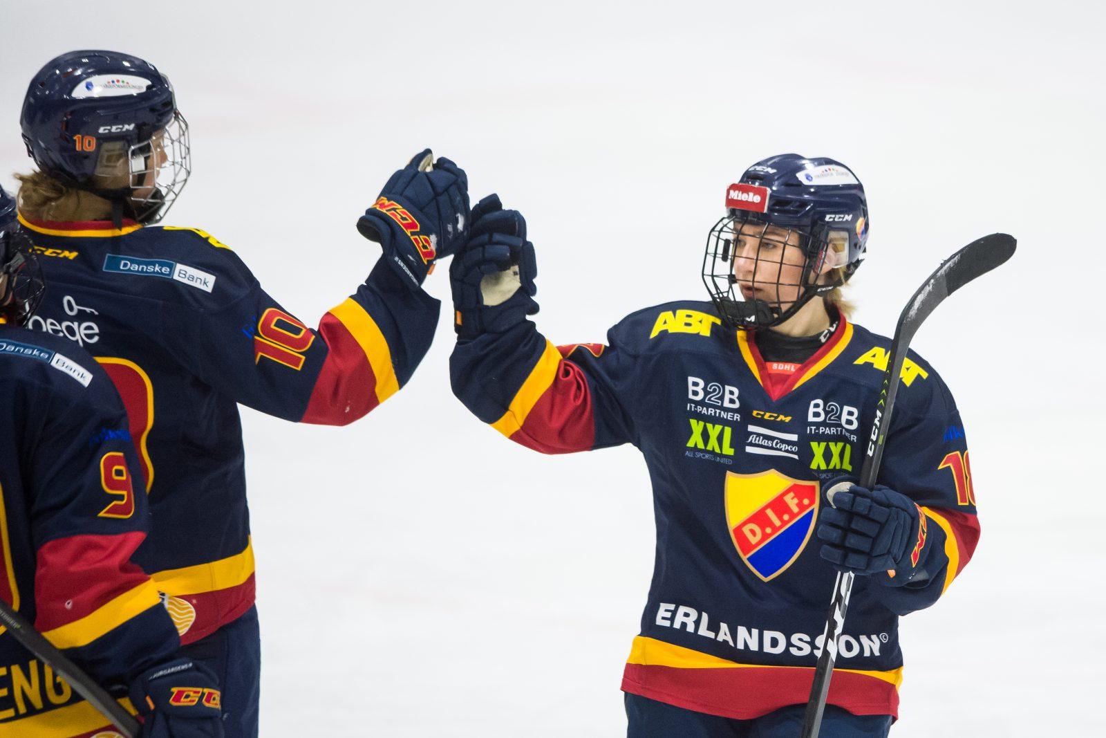 SDHL: Djurgården chockade serieledarna