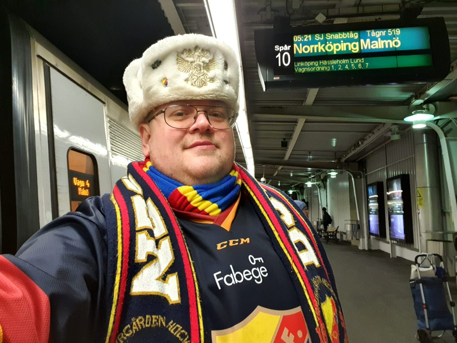 Invasion Danmark, Malmö away!