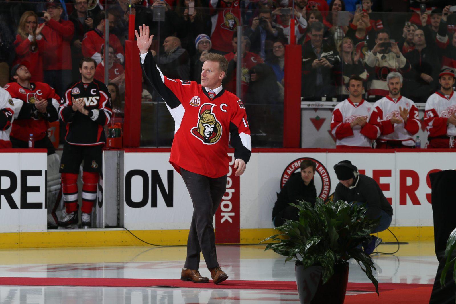 Daniel Alfredsson väljs in i Hockey Hall of Fame