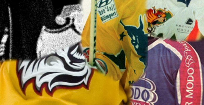SHL: Tidernas värsta loggor på matchtröjor