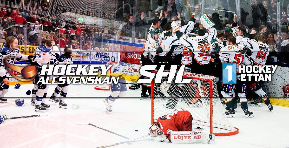 SERIESYSTEMET: Så spelas SHL och Hockeyallsvenskan nästa säsong