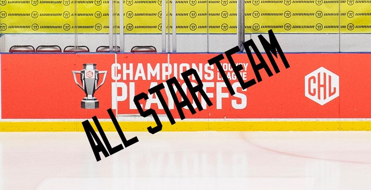 CHL: Här är turneringens All-star Team