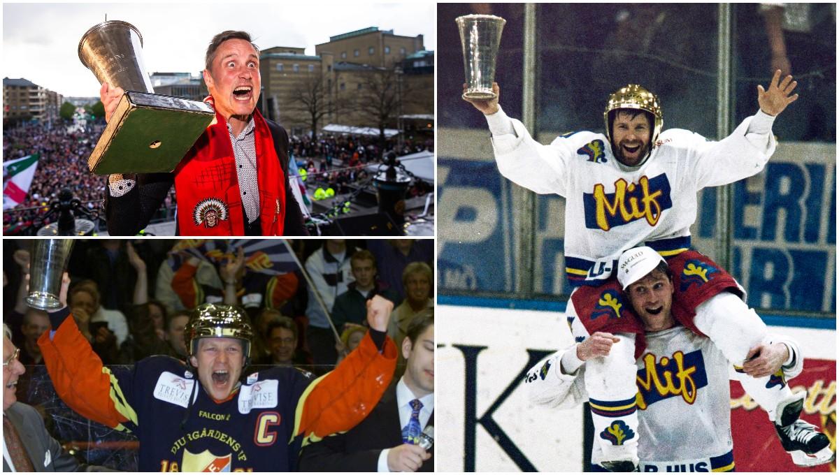 LISTA: De har blivit svenska mästare – år för år
