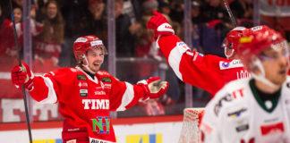 Jonathan Dahlén hade målshow när Timrå vann mot Almtuna med hela 11-1
