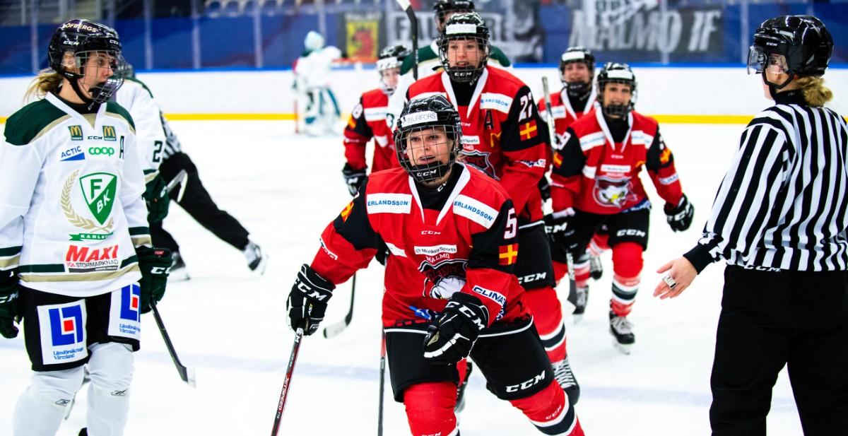 SDHL-KVALET: Malmö vinner historiska matchen